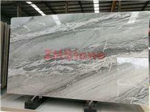 Nuage Quartzite Nuage White Quartzite Slabs for Floor Tile