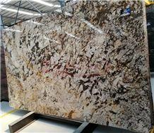 Splendour Gold Granite Giallo Splendour Granite Slabs for Countertop