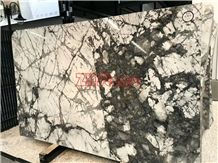 Winter River Snow Marble Slab Cold River Marble for Table