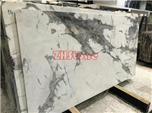 Winter River Snow Marble, Winter Snow Marble Slab