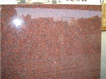 G562 Granite Polished Slab & Tile, China Maple Red Granite