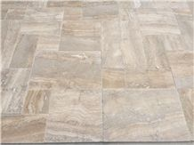 Naturella Travertine, Navona Grey Green Travertine