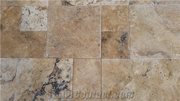 Philadelphia Travertine Tiles Pattern Brown Travertine Floor Tiles