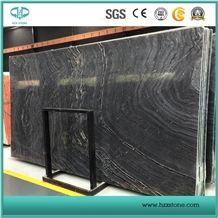 Ancient Wood Marble/ Black Wood Vein Marble Slabs for Sale
