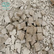 G682 Granite G682 Granite Cube Stone Rustic Yellow Pavers Yellow
