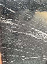 Hot Sale! Singapore Market Black Space Granite Flooring Tiles