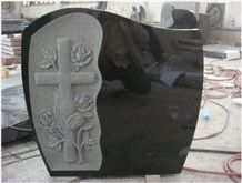 Indian Impala Black Granite Tombstone&Monument