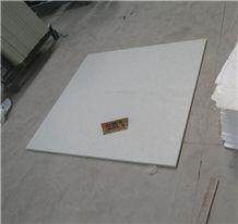 Polished Artificial Crystal White Quartz Floor Tiles