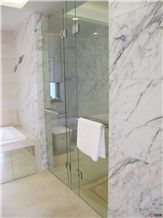 Hotel Interior Wall Decoration Arabescato Corchia Marble