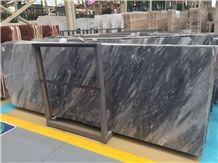 Italy Carrara Grey Marble Slab Tiles Floor Wall Covering Decoration