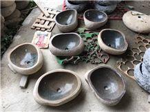 Professional China Basalt ,Natural Basalt Round Sink Manufactory