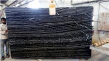 Barcode Black Marble Slabs, Fantasy Black Marble Slabs & Tiles