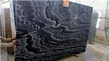Barcunda Black Marble Slabs, India Black Marble