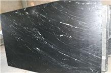 Polar Black Marble Slabs