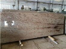 Ivory Brown Granite Slabs