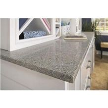 Agglomerated Quartz Stone for Bar Top and Bath Vanity Top