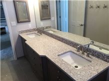 Best Quality Fake Quartz Stone Laminate Countertop Bathroom Vanity Top