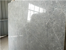 Chinese New Light Grey Marble Interior Natural Stone Tile Slab