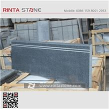 G654 Granite Steps Cast Riser Threshold Garden Spiral Treads Deck