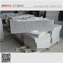 New G603 Granite Zhima White Grey Impala Gray Ice Crystal Star Stone,Stairs & Steps