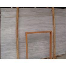 Wholesale Elegant Kavala Semi Grey Vein Seamless Greece White Marble