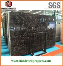 China Dark Emperador Marble Tiles & Slabs/Brown/Cheap/Floor