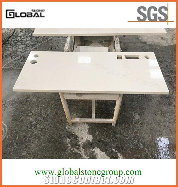 Polished Carrara White Marble TopsBarCoffeeTeaRestaurantTable - White marble restaurant table tops