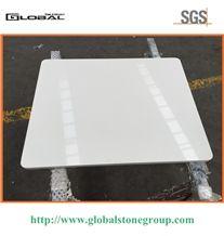Polished Pure White Quartz Table Top