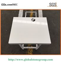 Polished White Quartz Tops for Hotel,Office,Home,Cabinet,Furniture