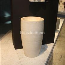 Beige Limestone Craft/Carving Crafts/Handicrafts/Gifts/Stone Hand Make