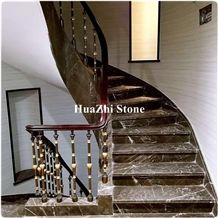 Brown Argus Brown Marble Stairs Type Price