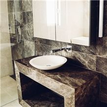Dark Emperador/Chinese Marble/Brown Marble/Home Improvement/Tile