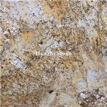 Granite Wholesaler Price Billson Golden Hight Polished Flag Big Slabs