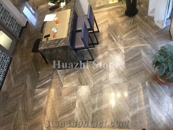 Grey Marble Home Decor Floor Tile