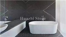 Grey Marble Tiles & Slabs,Pietra Grey,Graphite Grey,Grey Armani Stone