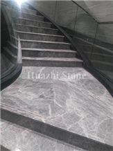 Hermes Grey Natrual Marble Slab and Tiles
