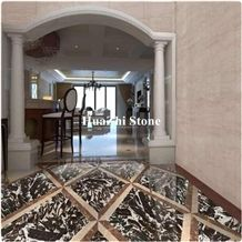 Huazhi Natural Onyx Kirin Antique River Marble Slabs Cladding Veneer