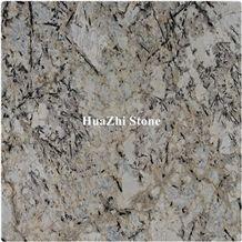 Huazhi Polished New Delicatus Gold Granite Golden Stone Slab
