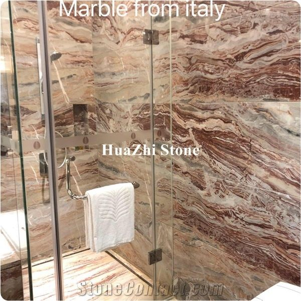 italian modern and luxury monica red marble for bathroom designitalian modern and luxury monica red marble for bathroom design