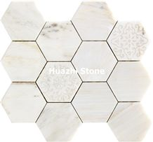 Marble Mosaic /Bathroom Flooring/Mosaic Bar/Bathroom Mosaic Wall Tiles