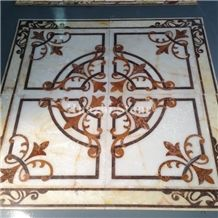 Marble Waterjet Medallions/Floor Projects/Marble Medallions