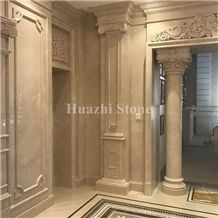 Michelia Alba/Chinese White Marble/Beige Marble/Home Project/Hotel Wal