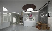 Natural Dream White Jade Marble for Interior Wall/Floor Decoration