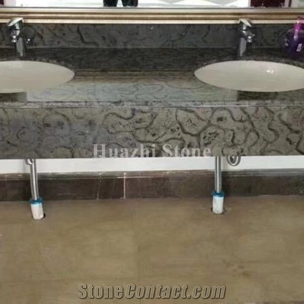 Oracle Wooden Grey Marble Bar Top Commercial Counters From China