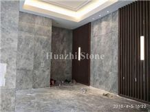 River Grey/Gray Natural Marble from Huazhi Stone