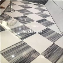 Snow Wooden Tiles Marble Price Platinum Striato for Home Decoration
