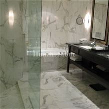 Statuario White Marble/Walls and Floors for Bathrooms/Hotel Projects