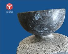 Blue Pearl Granite Kitchen Dining Accessories Bowls Cooking Stone Pots