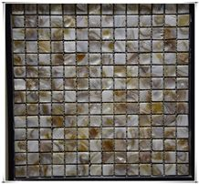 Interior Wall Mosaic Bathroom Seashell Floor Backsplash Tile