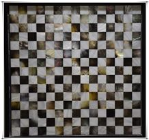 Square Natural Shell Mosaic Design for Flooring Wall Bar Tile